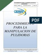 Mspc-sgi-pro-008 Procedimiento Para La Manipulacion de Pulidora Rev 2