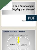 Ergo Display Control