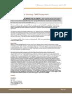 WNS Announces Voluntary Debt Prepayment