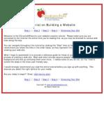 Website Tutorial