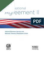 NTEU IRS Collective Bargaining Agreement