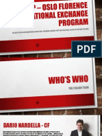 Oslo Florence International Exchange Program 2014