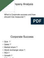 Company Analysis I