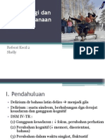Patofisiologi Dan Penatalaksanaan Delirium