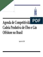agenda da competitividade da indústria de petróleo e gas onip 2010