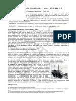 UE2 -1º ano - Distancias Geográficas e Processos Migratórios