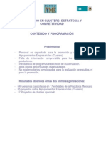 Programa Diplomado en Clusters