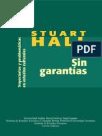 HALL- Sin Garantias Trayectorias Y-problematicas en Los Estudios Culturales