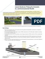 Coal-Tar-Based Pavement Sealcoat, Polycyclic Aromatic Hydrocarbons (PAHs), and Environmental Health