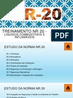 Treinamento NR 20 - Líquidos combustíveis e inflamáveis
