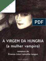 A virgem da Hungria  ou a mulher vampiro - Étienne Léon