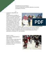 Danza de Los Departamentos de Guatemala