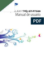 GT P7500 Manual