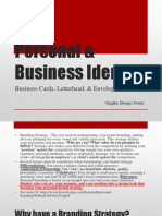 personal  business identity
