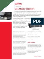 Avaya Media Gateways 1