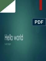 Hello World4
