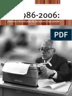 1986 2006 Periodismo Bajo Presion