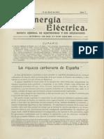 La Energía eléctrica. 10-4-1912, n.º 7