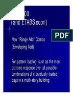 SAP2000 Range Add Combo