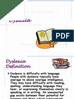 10. Dyslexia