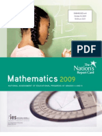 The Nation's Report Card Mathematics 2009