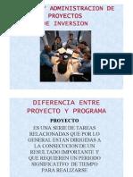 Diseño y Admon. de proyectos