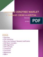 embedded zero tree wavelet coding