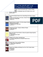 57- Weather & Climate Sciences E-Books List