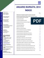 Anuario Bursatil 2012 - IAMC