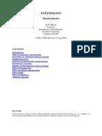 EnzymeKinetics by  P.C. Misra Professor, Department of Biochemistry Lucknow University, Lucknow-226 007