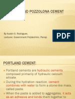 Portland Pozzolona Cement