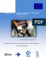 Informe Mensual Enero 2014_Casa Alianza Honduras