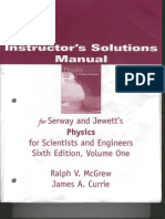 Solucionario de Serway Sexta Edicion Vol 1