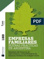 Empresas familiares - Buenas prácticas en Argentina