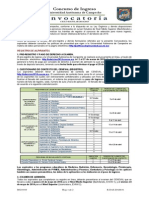 Convocatoria de Nuevo Ingreso 2014-2015 UAC