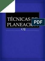TÉCNICAS DE PLANEACIÓN expocicion