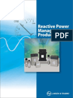 Power Capacitors and Reactive Power Management Products Catalogue