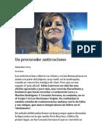 Un Procurador Antirracismo. Por Fernando Vivas