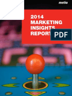 Metia Marketing Insights 2014