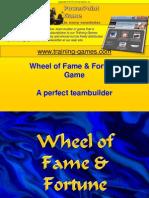 Tgi Freewheel Fame Fortune Game