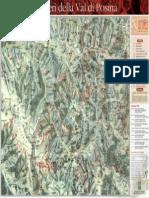 Sentieri della Val Posina Mappa