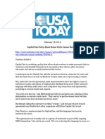 Credit Card Insider - USA Today - 2-18-14