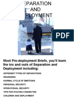 Separation and Deployment