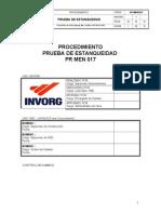PR MEM 017 Procedimiento de Estanqueidad Rev1