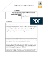 Temario 4 Desarrollo de Aplicaciones Moviles y Sistemas de Informacion Geografica