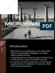 Micro Finance Management and Governance