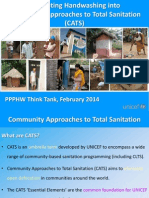 Integrating Handwashing into Community Approaches to Total Sanitation (CATS)
