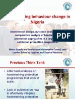 Handwashing Behaviour Change in Nigeria