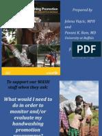Handwashing Promotion Monitoring & Evaluation Module