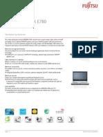 Ds Lifebook e780